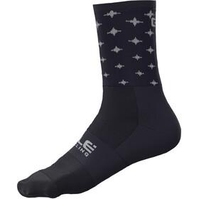 Alé Cycling Stars Q-Skin Socks 16cm Men blue/white